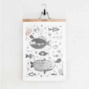 Aquarium / plakat 50 x 70cm
