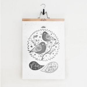 Ptaszyny / plakat 50 x 70cm