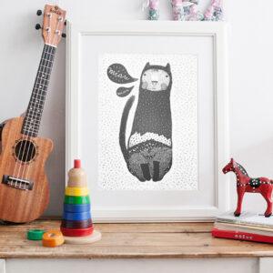 Kocur Miau / plakat