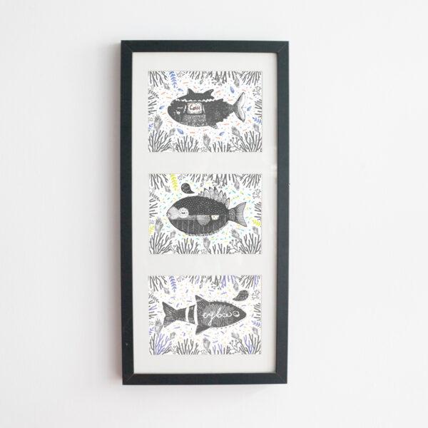 Aquarium / kartki